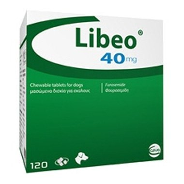 Libeo 40mg Tablets For Dogs
