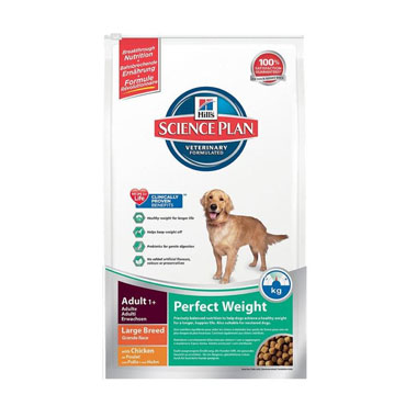 Hill's Science Plan Canine Adult Perfect Weight Large Breed