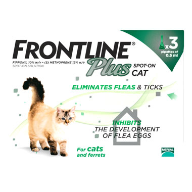 NEW Frontline Plus Spot On Cat