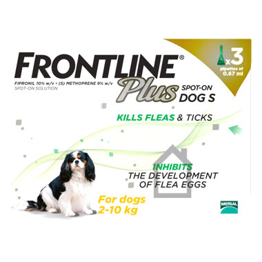 NEW Frontline Plus Spot On Small Dog