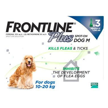 NEW Frontline Plus Spot On Medium Dog