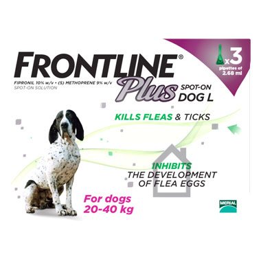 NEW Frontline Plus Spot On Large Dog