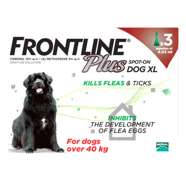 NEW Frontline Plus Spot On Extra Large Dog